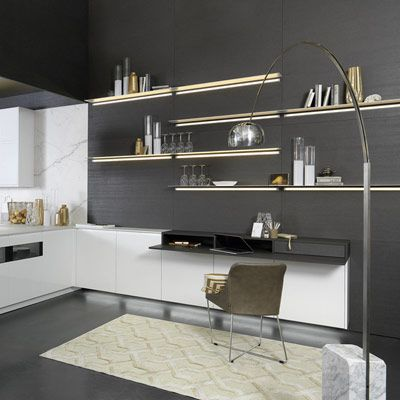 Weiße Wände In Der Küche Sind Neutral   Und Langweilig. Trauen Sie Sich An  Eine Kreative Wandgestaltung Und Bringen Sie Ein Wenig Mehr Farbe In Ihre  Küche.