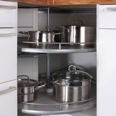 Eckschrank küche karussell  Eckschrank Küche - Ihr Küchenfachhändler aus Schwielowsee: 1-2-3 ...
